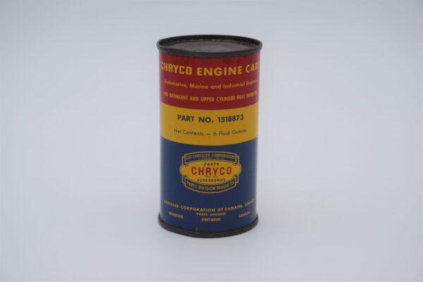 Antique Chryco Fuel Detergent Upper Cylinder Rush Inhibitor, 6 oz can.
