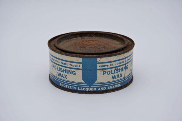 Antique Mopar Polishing Wax, 8 oz can.