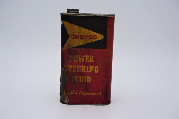 Antique Chryco Power Steering Fluid can, 1 imperial quart.