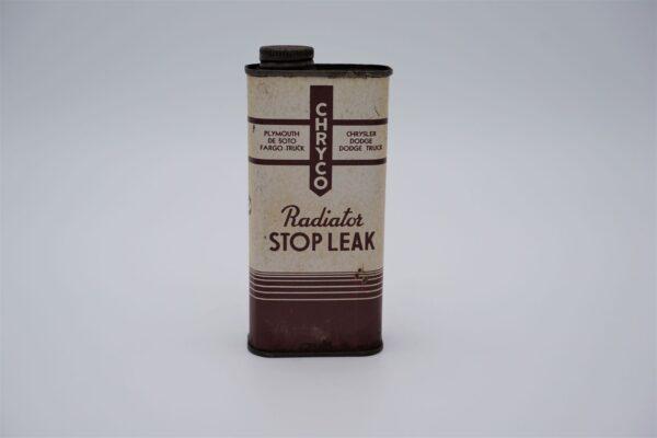 Antique Chryco Radiator Stop Leak, 10oz can.