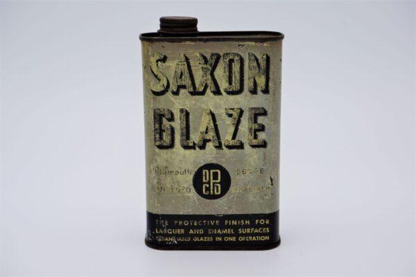 Antique Chrysler Saxon Glaze can, 1 Pint.