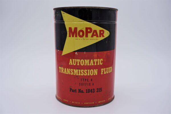 Antique Mopar Automatic Transmission Fluid, 5 quart can.
