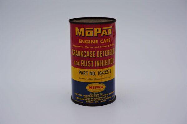 Antique Mopar Crankcase Detergent & Rush Inhibitor, 16 oz can.