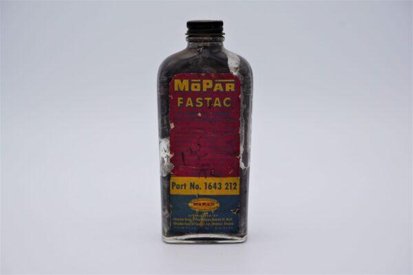 Antique Mopar Fastac, 8 oz glass bottle.