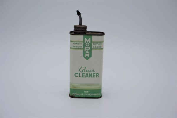 Antique Mopar Glass Cleaner can, 10 oz.