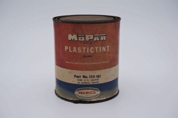Antique Mopar Plastictint, 1 quart can.