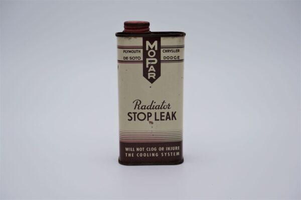 Antique Mopar Radiator Stop Leak, 10 oz can.