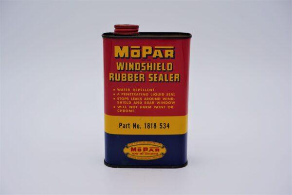 Antique Mopar Windshield Rubber Sealer, 1 pint can.