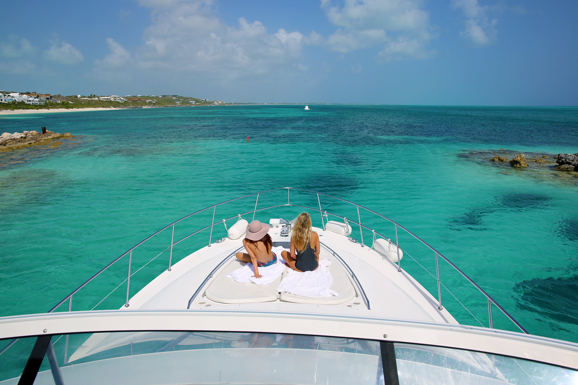 Luxury Motor Yacht Day Charter