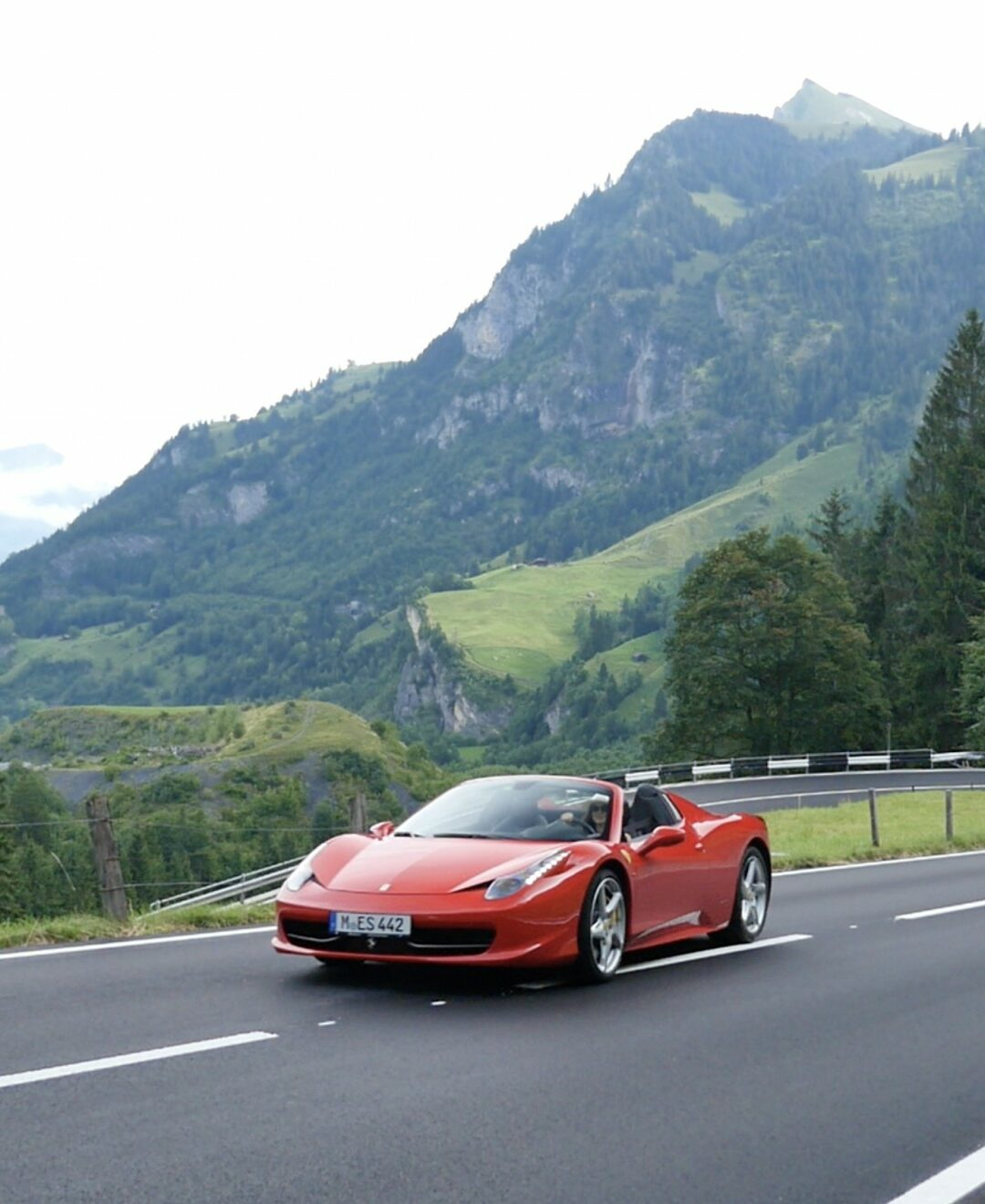 Ferrari Switzerland Tourism