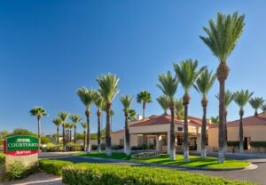 Courtyard by Marriott Tucson Airport-Entrance