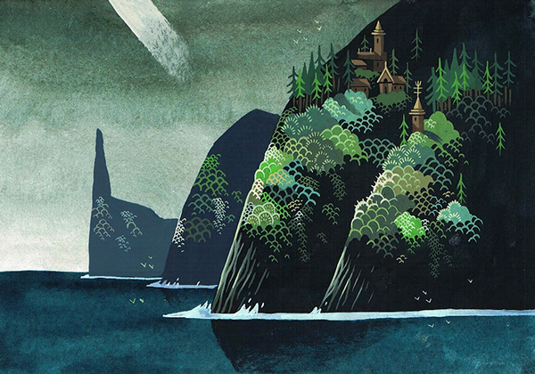 Beautiful Islands Illustrations by Duque Yvan