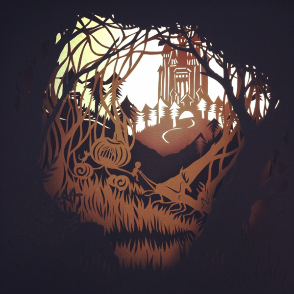The Amazing Hand Cut Paper Forest of Vivi 95