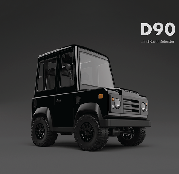 Box on wheels: Land Rover Defender