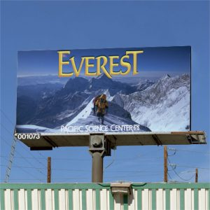 Everest billboard