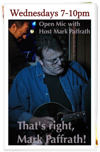 Union Park Tavern Wednesday Open Mic Night Hosted by Mark Paffrath