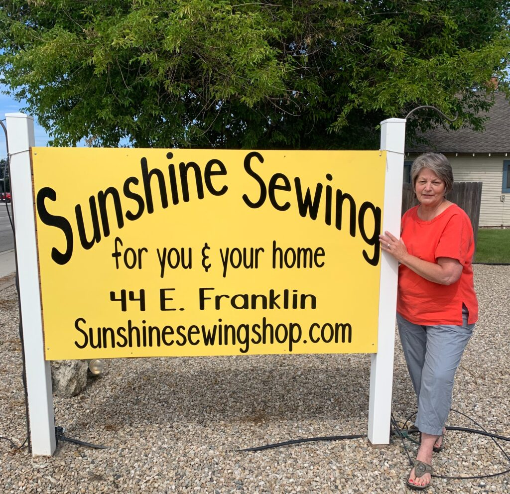 Sunshine Sewing Meridian Idaho