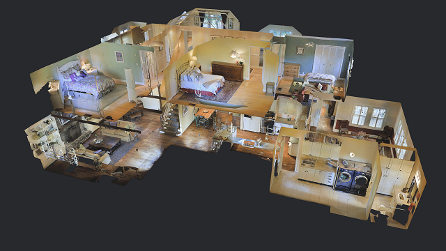 matterport dollhouse 3d tech rental home