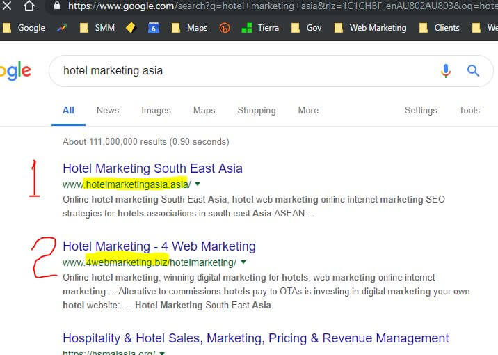 hotel marketing asia