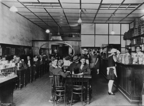 Busy Bee Cafe at Kingaroy Queensland 1929