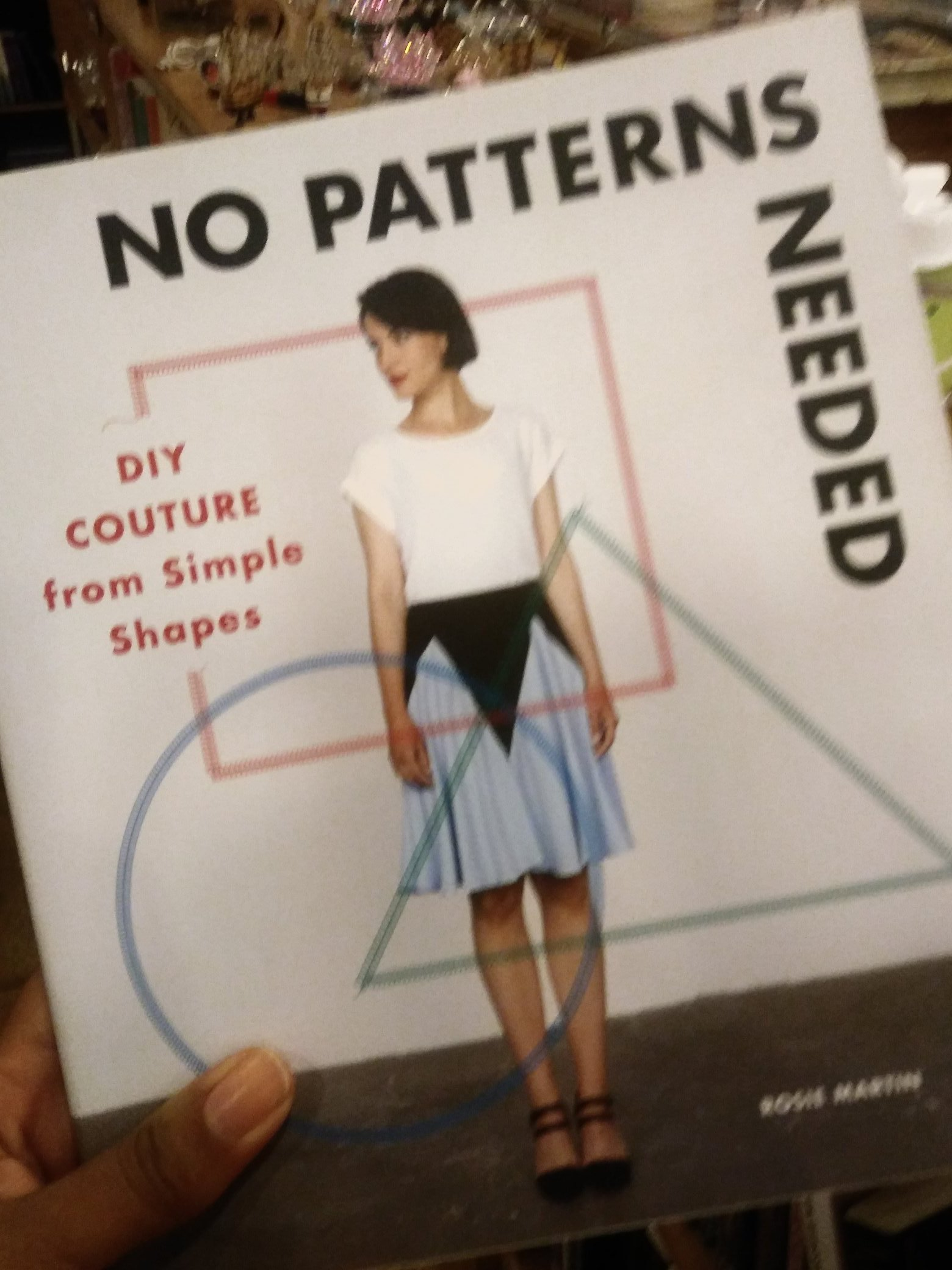Look who i spotted in a book shop!! http://diy-couture.blogspot.co.uk/