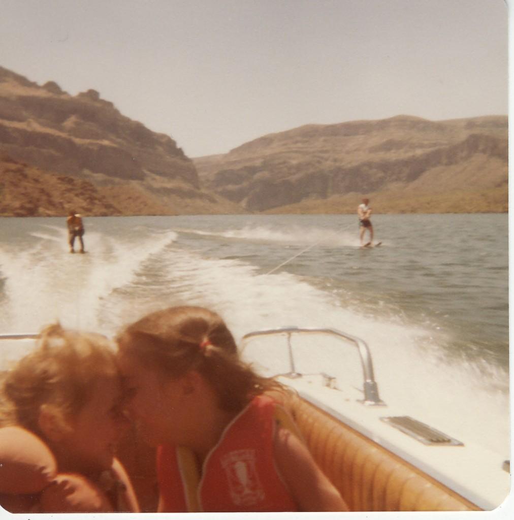 Apache Lake, AZ, Vicki & I