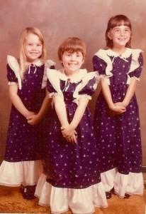 Carie, Vicki & I, 1979