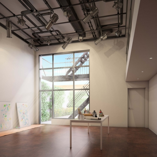 The flex performance space at 74a East 4th Street