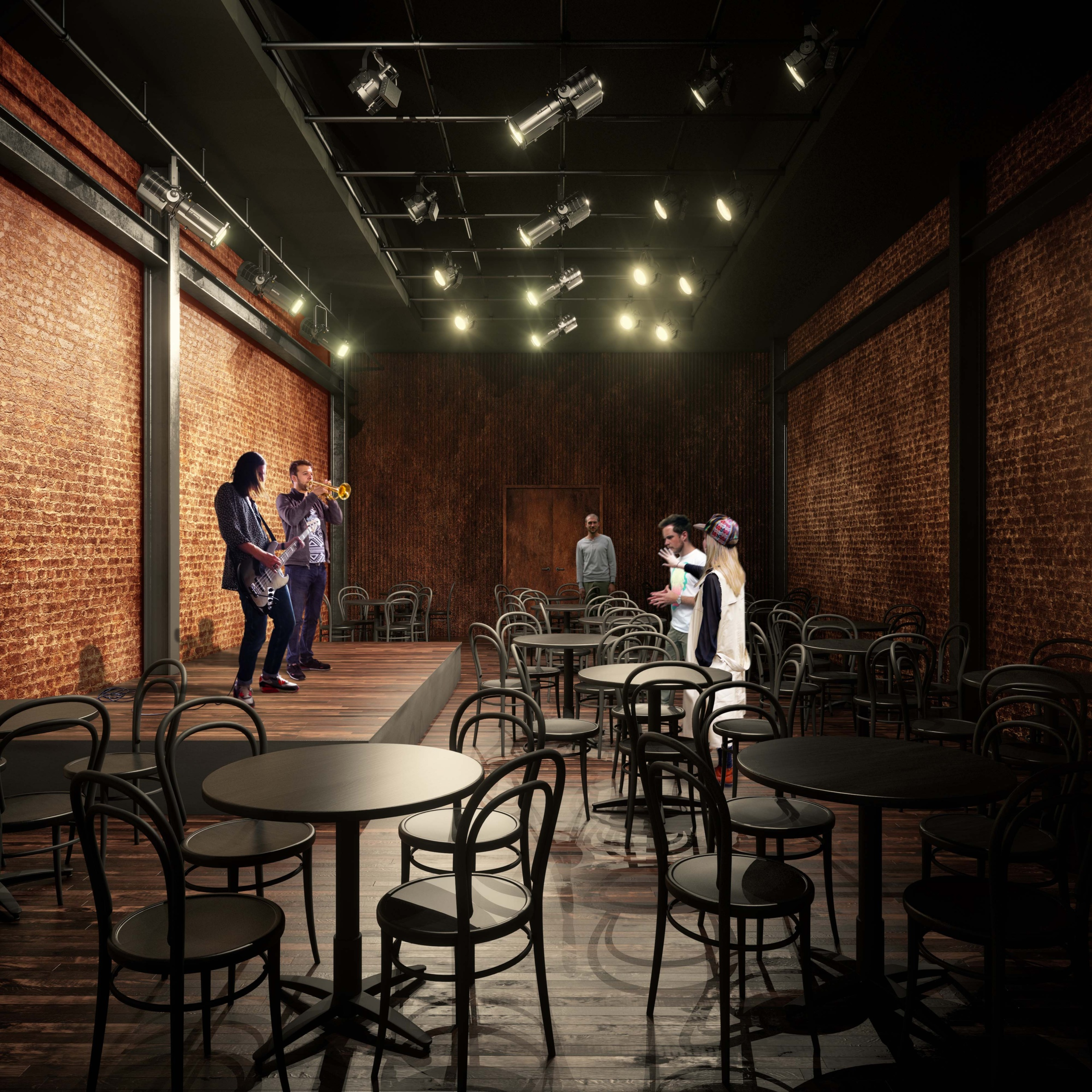 The new Club at 74a East 4th Street