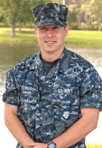 Seaman Apprentice Doug Flowers