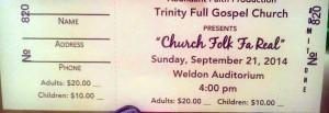 CHURCK FOLK FA REAL