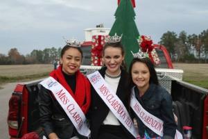 miss clarendon girls christmas parade