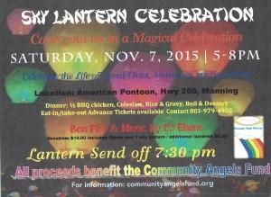 sky lantern celebration