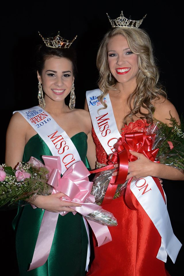 Miss Clarendon Teen 2016 Sara Elizabeth Levitt and Miss Clarendon 2016 Drue Floyd will represent Clarendon County in June in the Miss South Carolina Outstanding Teen and Miss South Carolina pageants, respectively.