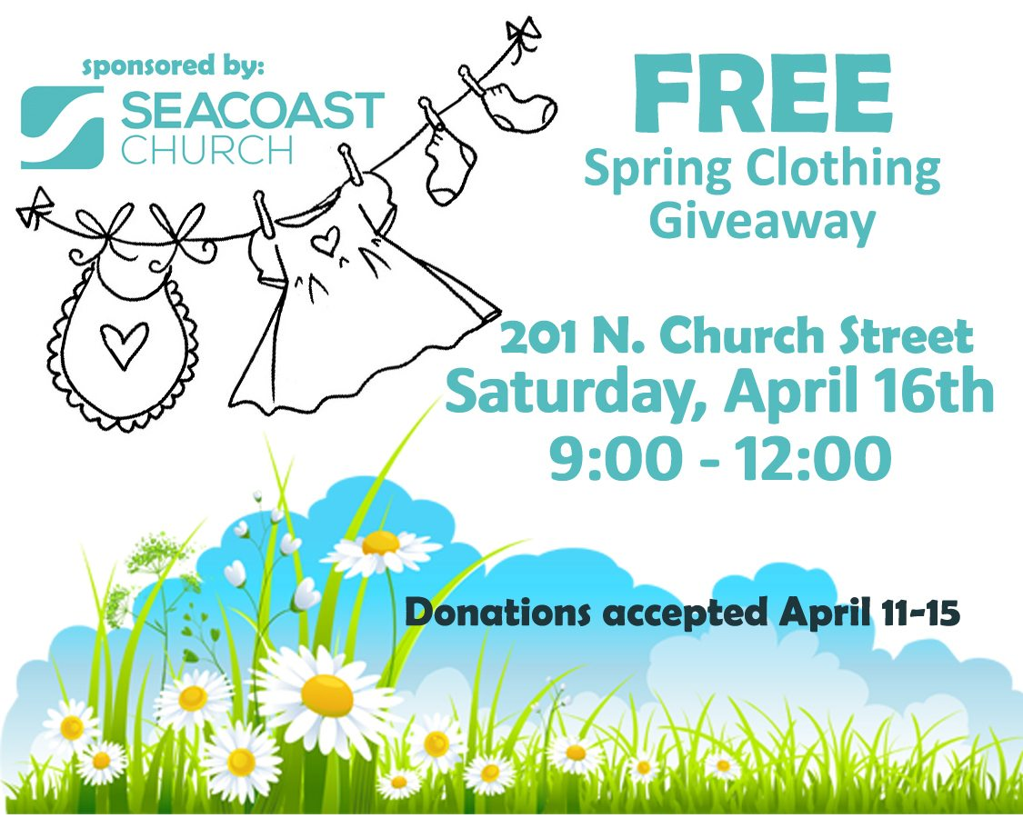 Spring Clothing Giveaway 2016