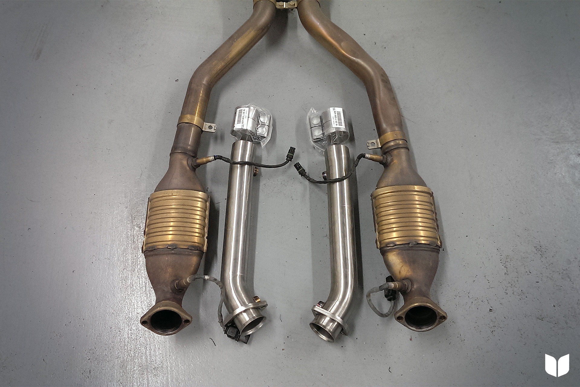 The E9X M3 Turner Motorsport Test Pipes