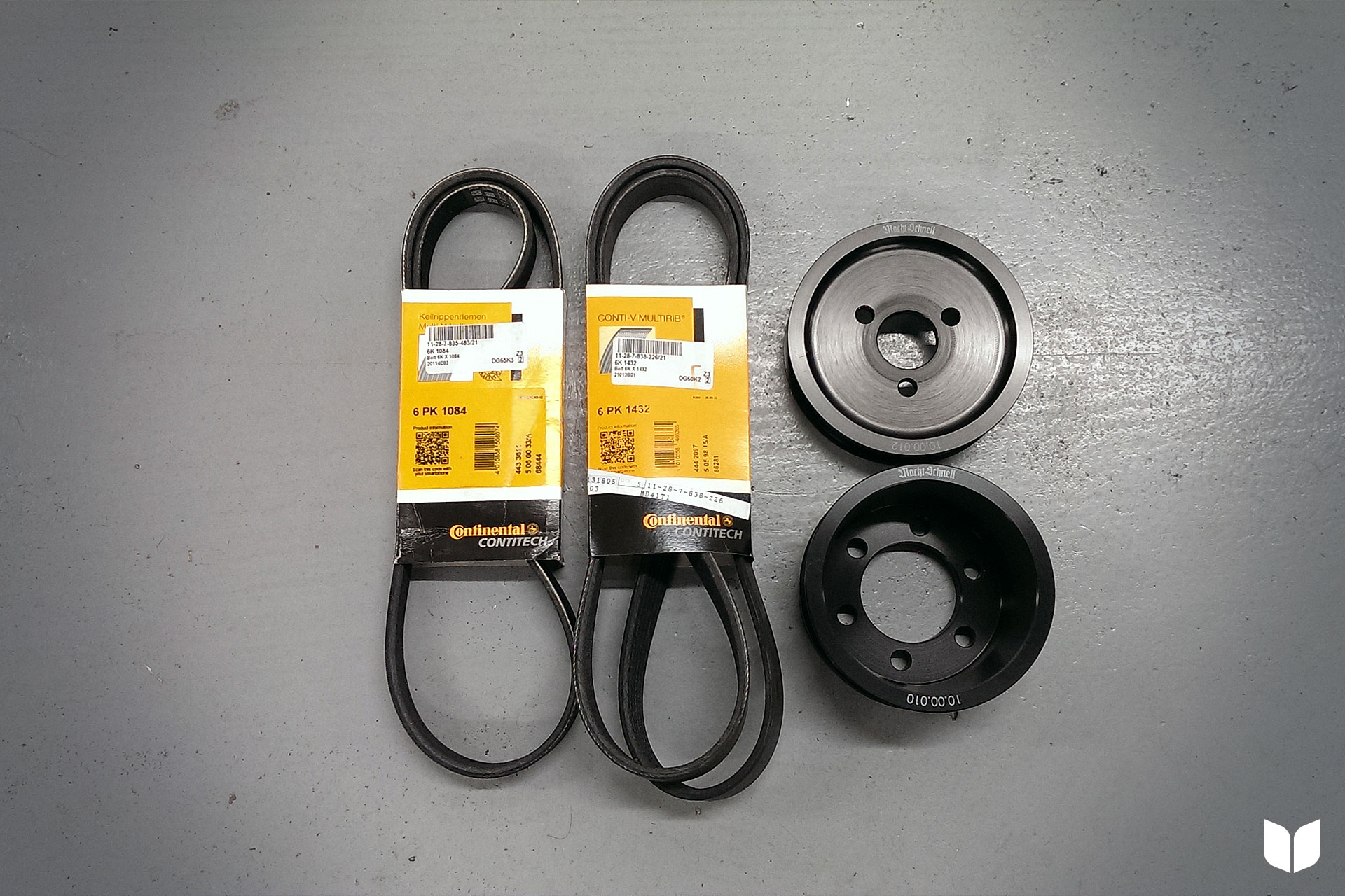 Macht Schnell Performance Underdrive Pulley Kit
