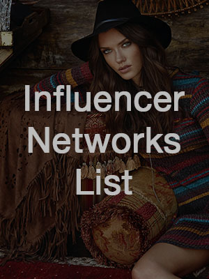 rogueline: influencer network list