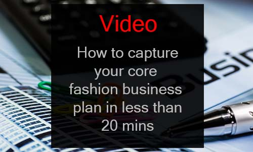 fashion business plan