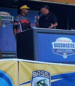 Day 1 Weigh-In, thanks to Rapala for the Alternate Team Jerseys!