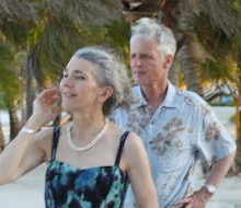 Mom and Dad in Belize