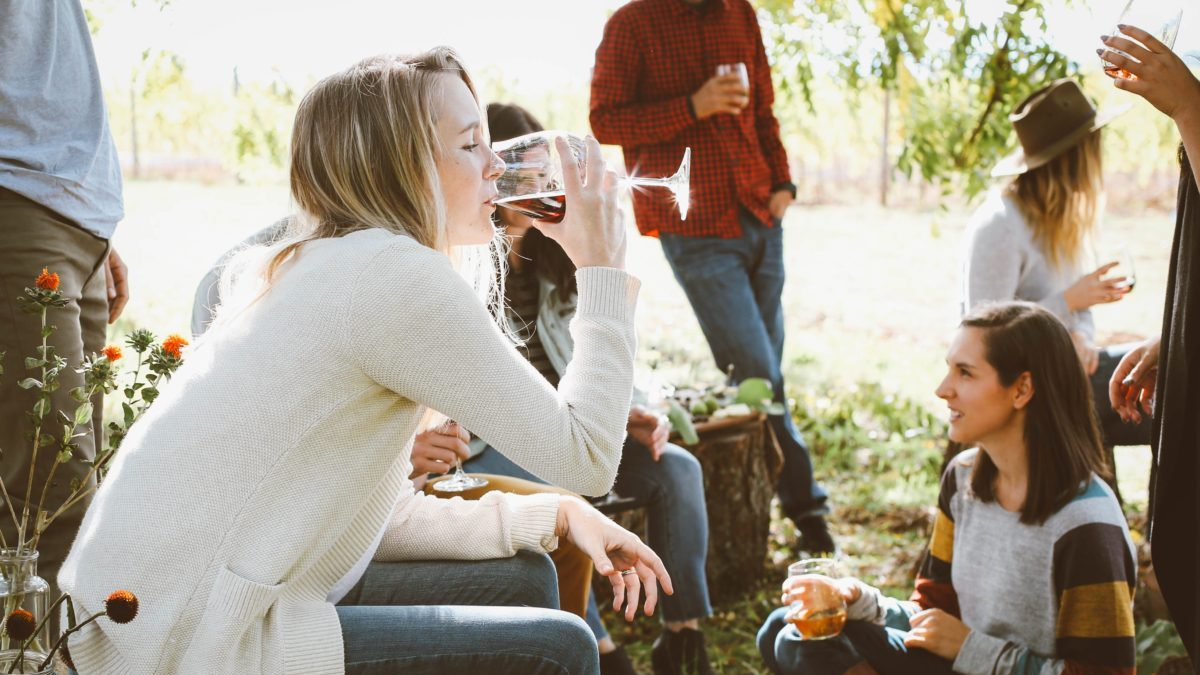 woman drinking friends relationship a better today media