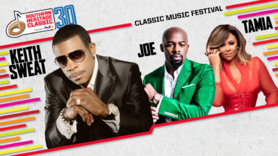 Classic Music Festival: Keith Sweat, Joe & Tamia September 13. Click here to buy tickets.