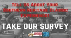 Tell us about your Southern Heritage Classic experience