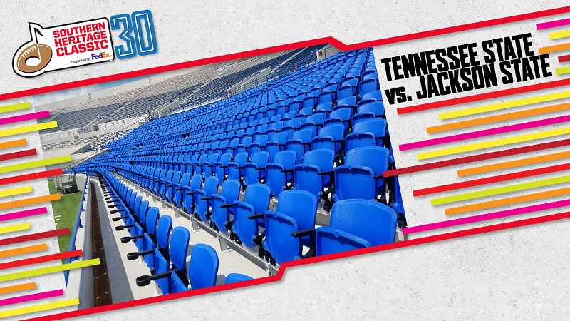 Tennessee State vs Jackson State September 14.Click here to buy tickets.