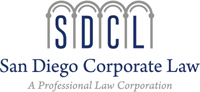 San Diego Corporate Law Logo