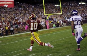 RG3 Leads the Redskins Past the Vikings 38-26
