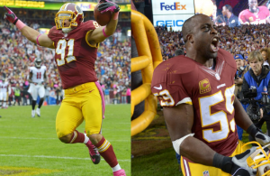 Redskins London Fletcher & Ryan Kerrigan Heading to the Pro Bowl