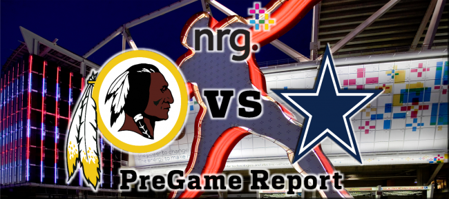NRG Energy Pre-Game Report - Redskins vs Cowboys Week 13