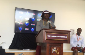 Robert Griffin III Press Conference 7-30-2015